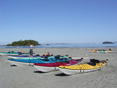 Sea Kayaking Adventure Vacations in Clayoquot Sound