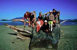 Sea kayaking adventures in Clayoquot Sound