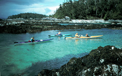 Sea Kayaking the Broken Group Islands, and Clayoquot Sound of Vancouver Island, British Columbia
