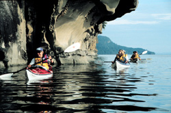 Sea Kayaking in the Gulf Islands, British Columbia