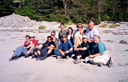 Clayoquot Sound lodge-based sea kayaking adventure vacation